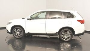 2015 Mitsubishi Outlander ZK MY16 LS 2WD White 6 Speed Constant Variable Wagon Victoria Park Victoria Park Area Preview
