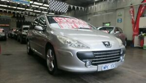 2008 Peugeot 307 MY06 Upgrade XS HDi 1.6 Touring Silver 5 Speed Manual Wagon Mordialloc Kingston Area Preview