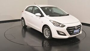 2015 Hyundai i30 GD3 Series II MY16 Active Cream 6 Speed Sports Automatic Hatchback Victoria Park Victoria Park Area Preview