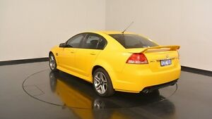 2011 Holden Commodore VE II SV6 Yellow 6 Speed Sports Automatic Sedan Victoria Park Victoria Park Area Preview