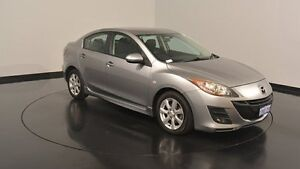 2010 Mazda 3 BL10F1 MY10 Maxx Silver & Chrome 6 Speed Manual Sedan Welshpool Canning Area Preview