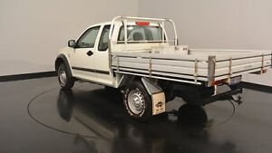 2006 Holden Rodeo RA MY06 LX White 4 Speed Automatic Cab Chassis Welshpool Canning Area Preview