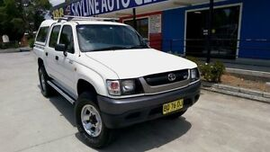 2004 Toyota Hilux White Automatic Silverwater Auburn Area Preview