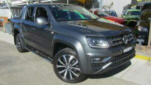 2017 Volkswagen Amarok 2H MY17 V6 TDI 550 Ultimate Grey 8 Speed Automatic Dual Cab Utility Homebush Strathfield Area Preview