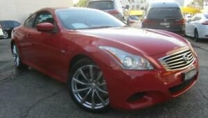 2008 Nissan Skyline 370GT Red Automatic Homebush Strathfield Area Preview