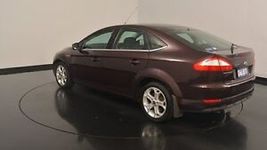 2010 Ford Mondeo MB Zetec Tdci Maroon 6 Speed Sports Automatic Hatchback Victoria Park Victoria Park Area Preview
