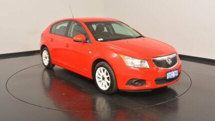 2012 Holden Cruze JH Series II MY12 CD Red 6 Speed Sports Automatic Hatchback Victoria Park Victoria Park Area Preview
