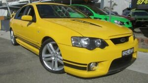 2005 FPV GT BA MkII Yellow 6 Speed Manual Sedan Homebush Strathfield Area Preview