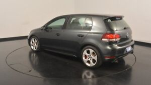 2009 Volkswagen Golf VI MY10 GTI DSG Carbon Steel Grey 6 Speed Sports Automatic Dual Clutch