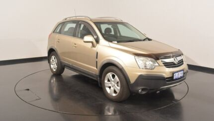 2010 Holden Captiva CG MY10 5 AWD Gold 5 Speed Sports Automatic Wagon