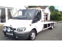 Ford transit recovery lorry LWB full psv ready for work just built