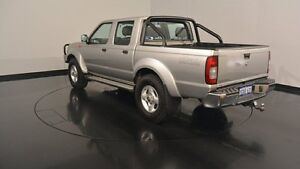 2012 Nissan Navara D22 S5 ST-R Silver 5 Speed Manual Utility Welshpool Canning Area Preview