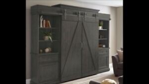 Rustic entertainment centre