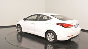 2014 Hyundai Elantra MD3 Active Creamy White 6 Speed Sports Automatic Sedan Victoria Park Victoria Park Area Preview