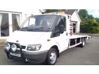 Ford transit recovery lorry just built lovely lorry ready for work full psv