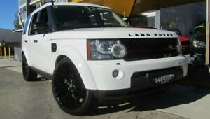 2012 Land Rover Discovery 4 MY12 2.7 TDV6 White 6 Speed Automatic Wagon Homebush Strathfield Area Preview