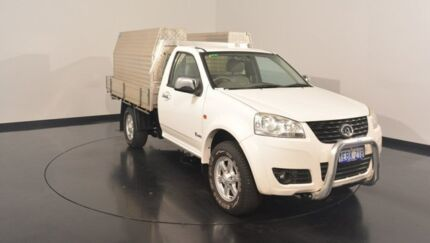 2012 Great Wall V240 K2 MY12 4x2 White 5 Speed Manual Cab Chassis Victoria Park Victoria Park Area Preview