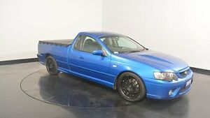 2007 Ford Falcon BF Mk II XR8 Ute Super Cab Blue 6 Speed Sports Automatic Utility Victoria Park Victoria Park Area Preview