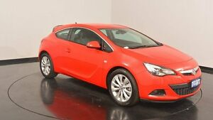 2015 Holden Astra PJ MY16 GTC Red 6 Speed Automatic Hatchback Victoria Park Victoria Park Area Preview