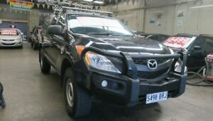 2013 Mazda BT-50 MY13 XT Hi-Rider (4x2) Black 6 Speed Automatic Dual Cab Utility Mordialloc Kingston Area Preview