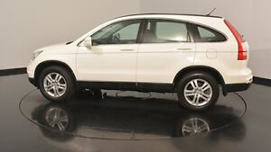 2011 Honda CR-V RE MY2010 Luxury 4WD White 5 Speed Automatic Wagon Victoria Park Victoria Park Area Preview