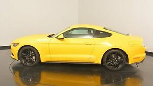 2015 Ford Mustang FM Fastback SelectShift Yellow 6 Speed Sports Automatic Fastback Victoria Park Victoria Park Area Preview