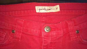 Red 'Just U.S.A.' Jeans * Size 11 * Edmonton Edmonton Area image 3