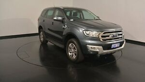 2015 Ford Everest UA Trend Metropolitan Grey 6 Speed Sports Automatic Wagon Victoria Park Victoria Park Area Preview