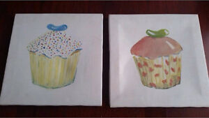 Cupcake canvases Cooloongup Rockingham Area Preview