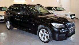 BMW X1 2.0 XDRIVE20D M SPORT 5DR AUTOMATIC (black) 2011