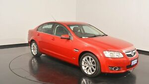 2011 Holden Commodore VE II MY12 Equipe Red 6 Speed Sports Automatic Sedan Victoria Park Victoria Park Area Preview
