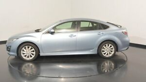 2012 Mazda 6 GH1052 MY12 Touring Blue 5 Speed Sports Automatic Hatchback