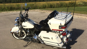 Mint Condition Harley Road King (Police Special)