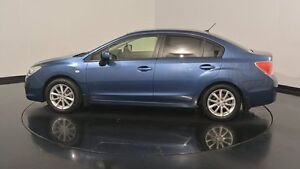 2013 Subaru Impreza G4 MY13 2.0i-L Lineartronic AWD Marine Blue 6 Speed Constant Variable Sedan Welshpool Canning Area Preview