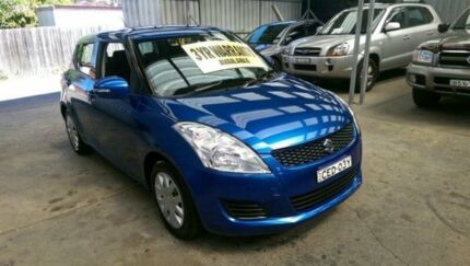 2011 Suzuki Swift FZ GL Blue 4 Speed Automatic Hatchback Lidcombe Auburn Area Preview