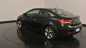 2010 Kia Cerato TD MY10 Koup Black 5 Speed Manual Coupe Welshpool Canning Area Preview