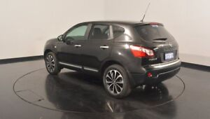 2013 Nissan Dualis J10W Series 3 MY12 Ti-L Hatch X-tronic 2WD Black 6 Speed Constant Variable