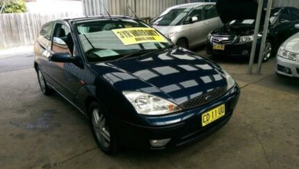 2004 Ford Focus LR MY2003 Zetec Dark Blue 4 Speed Automatic Hatchback Five Dock Canada Bay Area Preview
