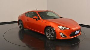 2012 Toyota 86 ZN6 GT Orange 6 Speed Sports Automatic Coupe Victoria Park Victoria Park Area Preview