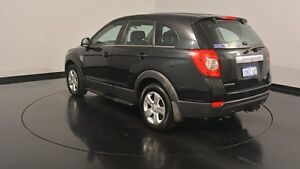 2010 Holden Captiva CG MY10 SX AWD Black 5 Speed Sports Automatic Wagon Welshpool Canning Area Preview