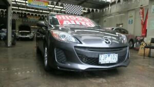 2012 Mazda 3 BL 11 Upgrade Neo Grey 5 Speed Automatic Hatchback Mordialloc Kingston Area Preview