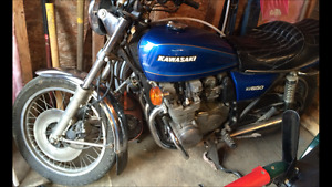 Nice find KZ 650 comes with extra motor and parts