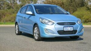 2011 Hyundai Accent RB Premium Blue 4 Speed Sports Automatic Hatchback Cannington Canning Area Preview