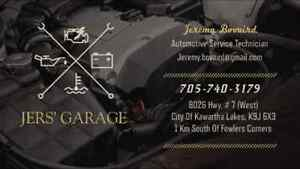 JERS' GARAGE 8026 Hwy.#7 South of Fowlers Corners 705-740-3179 Peterborough Peterborough Area image 2