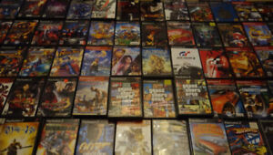 900 Jeux PS2 PS3 Gamecube Wii Xbox DS 360 (etc.) Games