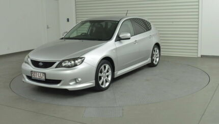 2008 Subaru Impreza G3 MY08 RS AWD Silver 4 Speed Sports Automatic Hatchback Southport Gold Coast City Preview