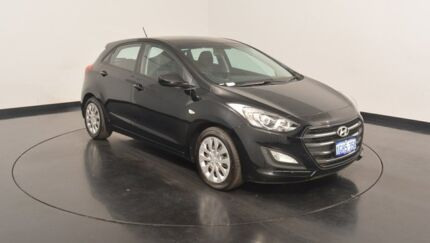 2015 Hyundai i30 GD3 Series II MY16 Active Black 6 Speed Sports Automatic Hatchback