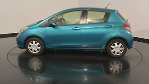2013 Toyota Yaris NCP130R YR Blue 5 Speed Manual Hatchback Victoria Park Victoria Park Area Preview