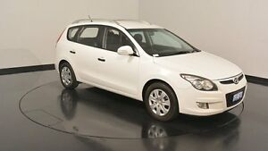 2011 Hyundai i30 FD MY11 SX cw Wagon Ceramic White 4 Speed Automatic Wagon Welshpool Canning Area Preview