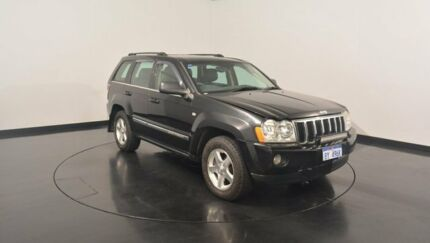 2006 Jeep Grand Cherokee WH MY2006 Limited Black 5 Speed Automatic Wagon Victoria Park Victoria Park Area Preview